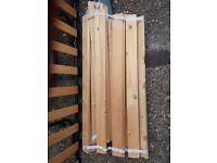 Ikea single bed wooden slats