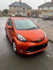 image for Toyota, AYGO, Hatchback, 2012, Manual, 998 (cc), 5 doors