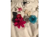 Selection of hair clips