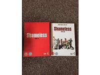 Shameless dvds series 1-4