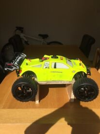Hpi trophy truggy with extras nitro