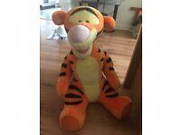22 inch talking Tigger Tiger teddy
