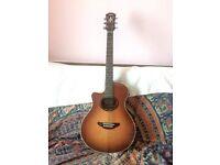Yahama APX-5LA left handed electro-acoustic guitar