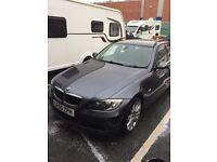 BMW 320d, angel eye headlights, cruise control, leather interior, air con