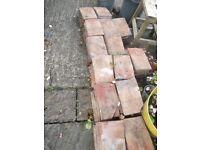 Plain concrete roof tiles