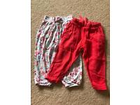Girls summer trousers