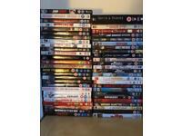 300+ assorted dvds