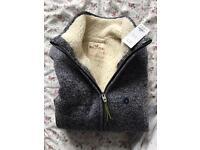 Hollister warm sweater jacket SMALL