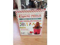 Chocolate fountain by Elgento - brand new