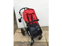 Bugaboo Cameleon Limited edition denim 007 (Denim & red hood cover)