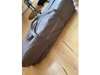 Mothercare travel cot and carry bag