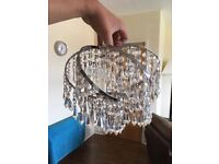 Chandelier style light shades