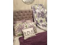 Next Curtains, cushions and throw