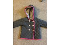 Girls coat age 18-24 months