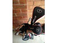 Callaway Strata 12-Piece Golf Clubs Set - Left Handed - Beginner Set