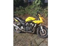 Yamaha Fazer 600 FZS600 Yellow 2002