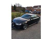 2013 Audi A4 2.0TDI S line Black Edition 177PS. BRILLIANT DRIVE. E/W. CENTRAL LOCKING KEY. ALLOYS.
