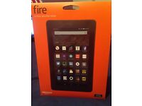 "Fire Tablet, 7"" Display, Wi-Fi, 8 GB (Black)"