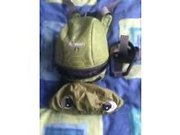 Little life back pack reins turtle