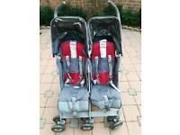 Maclaren twin techno stroller/double buggy