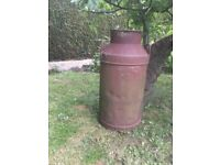 United dairies milk churn