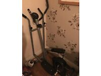 Cross Trainer - hardly used excellent condition