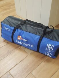 Brand new 8 man tent never been out of bag comes with footprint ground sheet brand new also..