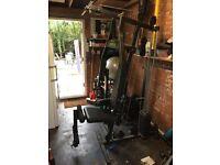 Home multi gym weights machine