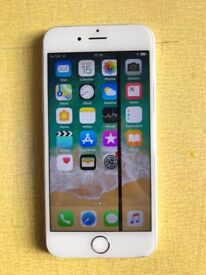 Iphone 6 128GB - Unlocked - Thin black line on screen