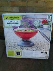 BNIB garden fire pit with grill