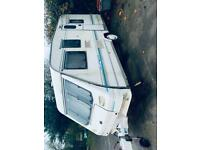 Europa sterling 450l 5 birth caravan good condition