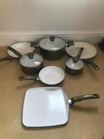 T-FAL pots and pans