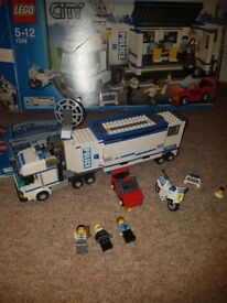 Lego set mobile police unit 7288