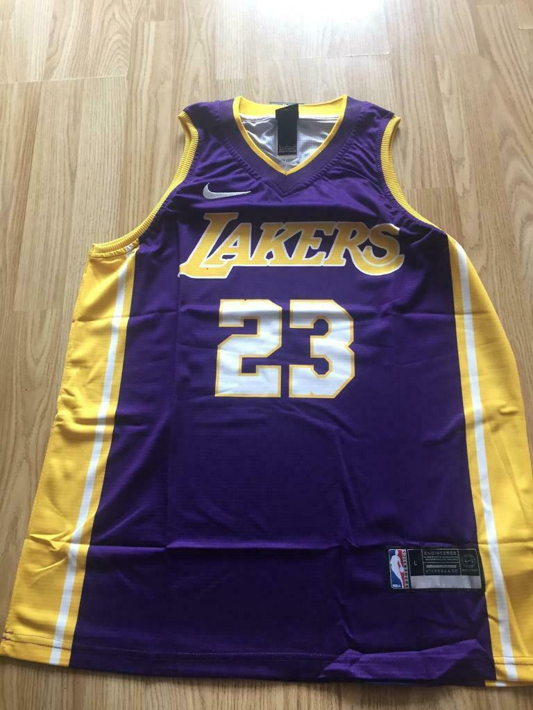 outlet store 40dec 0919a LA Lakers lebron James basketball jersey away | in Toxteth, Merseyside |  Gumtree