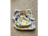 Blueberry Coveralls reusable nappy cover