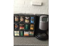Flavia coffee machine-low vend only 154 cups-as new-hardly used