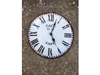 Rustic look clock