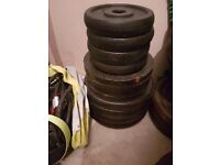 40kg of cast iron plates