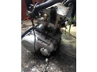 Wr 125 2014 engine