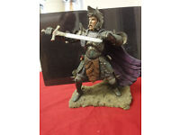 """danbury mint figurine of """"King Arthur"""" in new condition"""