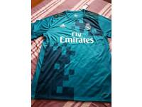 Real Madrid 3rd football shirt 2017-18 new with tags