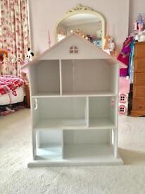 Large dolls house / bookcase