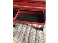 Snap on roll tool box