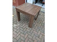 Extendible Kitchen Table (80cm x 160cm extended) and Chairs