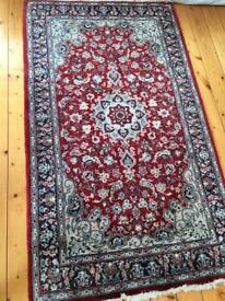 Persian knotted rug 165 x 98