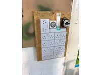 Cheshunt Hydroponics Store - used 16 way timer contactor board