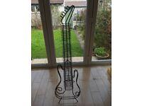 Guitar shaped Cd Rack