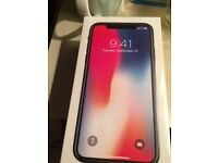 iPhone X 64gb Space Grey unlocked to all networks. FACTORY SEALED