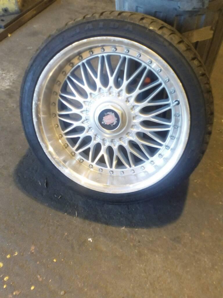 "18"" alloy wheels. Audi or golf"