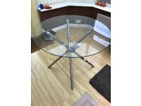 Glass Table - Selling as I need the room !